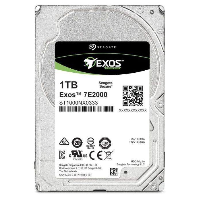 Seagate Exos 7E2000 1TB Drive