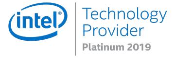 Intel Technology Provider Platinum 2019